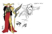 Scopina soul of the dragon concept art