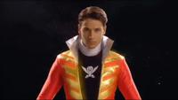 Red Super Megaforce Ranger Morph 1