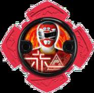 Turbo Red Ninja Power Star