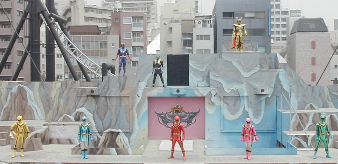 Magiranger Stage Show at Double Hero Tokyo Dome City