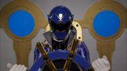 Gokaiger Blue cockpit