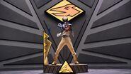Gold Ranger in Ptera Zord