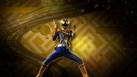 Gold Samurai Ranger Morph 2