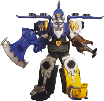 Gosei Jet Megazord