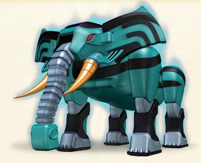 Jungle Fury Elephant Ranger