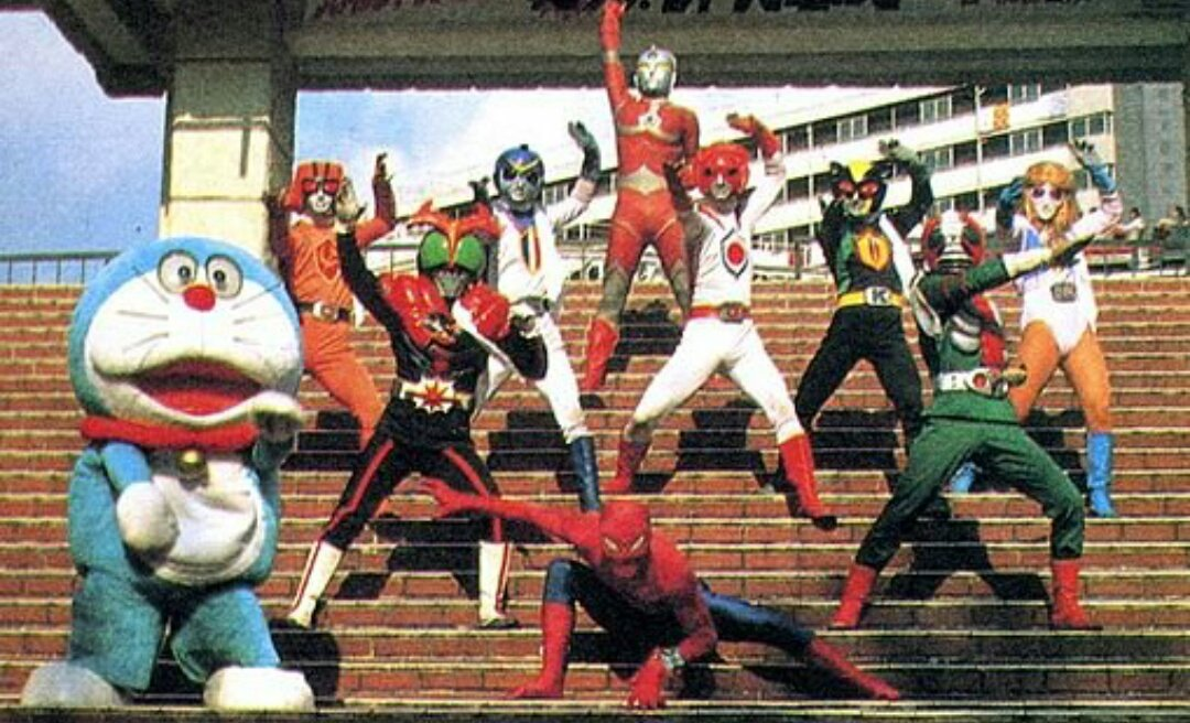 Battle Fever J Stage Show at Super Hero Korakuen Yuenchi