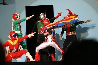 Go-Onger Stage Show at Super Hero Nagoya Dome
