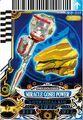 GoseiBlue Miracle Power card