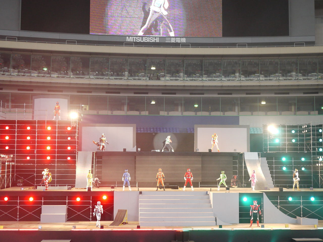 ToQger Stage Show at Super Hero Nagoya Dome