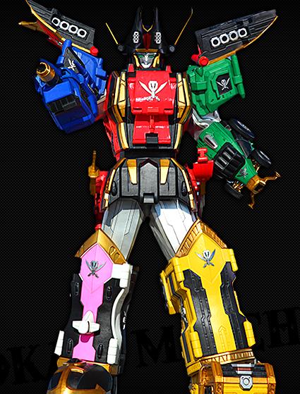 Comparison:Kaizoku Gattai GokaiOh vs. Legendary Megazord