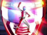 Red Overdrive Ranger Morph 2