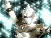 White Mystic Ranger Morph 3