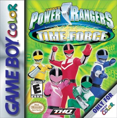 Power Rangers Time Force (GBC)