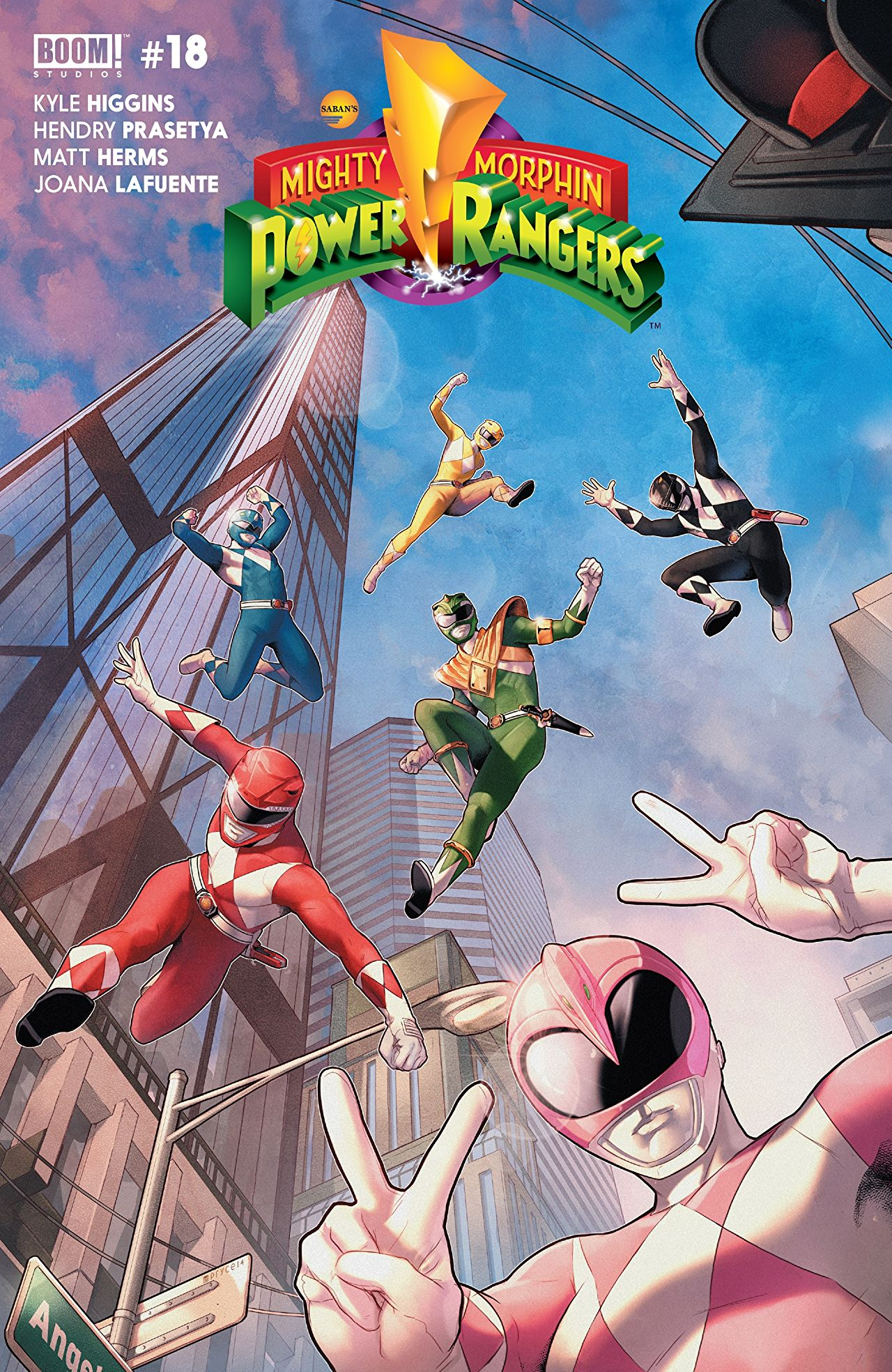 Mighty Morphin Power Rangers (Boom! Studios) Issue 18