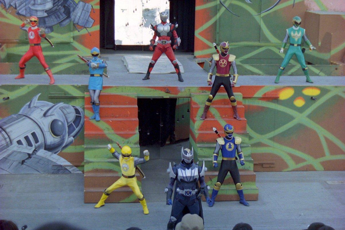 Hurricaneger Stage Show at Double Hero Korakuen Yuenchi