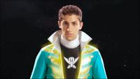 Green Super Megaforce Ranger Morph 1