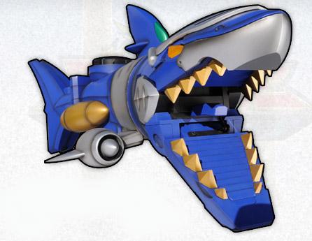 Gosei Shark Mechazord