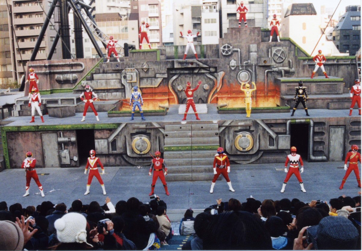 Abaranger Stage Show at Red Senshi Tokyo Dome City