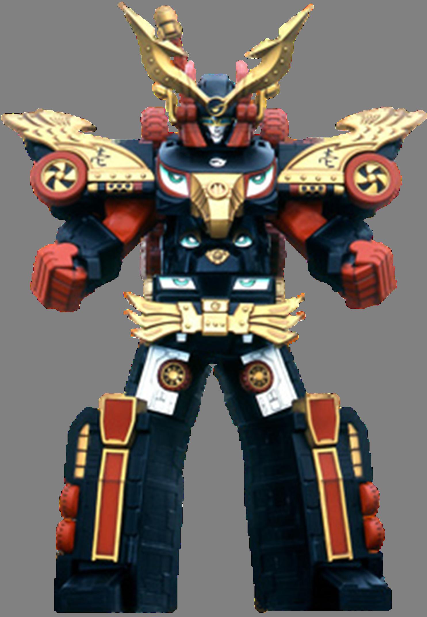 Comparison:Engine Dai-Shogun vs. Engine Shogun Megazord