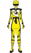 Super Shaolin Fury Yellow Ranger