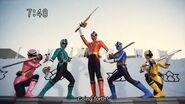 All Super Sentai's First Fight ( Part 7 )