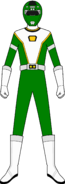 Green Turbo Charge Ranger