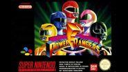 AREA 2 Mighty Morphin Power Rangers Super Nintendo METAL COVER REMIX