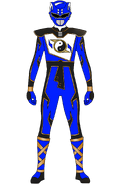 Super Shaolin Fury Blue Ranger