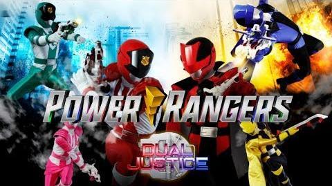 Power Rangers Dual Justice - 6 Member Morph & Roll Call