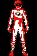 Shaolin Fury Red Ranger