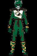 Super Shaolin Fury Green Ranger