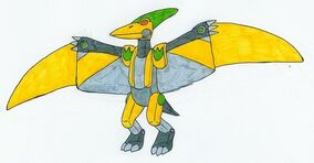 Yellow Pteranozord by MCsaurus.jpg