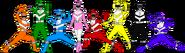 Power Rangers Planet Savior (First 8 Rangers)