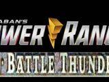 Power Rangers Battle Thunder