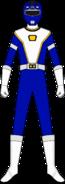 Blue Turbo Charge Ranger