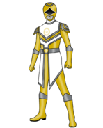 Gold Sun Planet Ranger