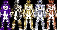 Shaolin Fury Rangers (Secondary)