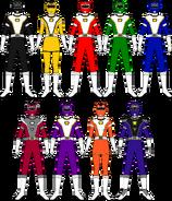 Power Rangers Turbo Charge (Nine Heroes)