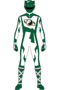 Shaolin Fury Green Ranger