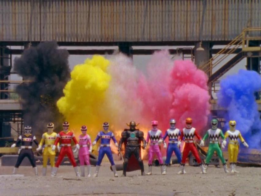Diez Power Rangers