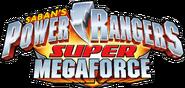Power Rangers Super Megaforce logo