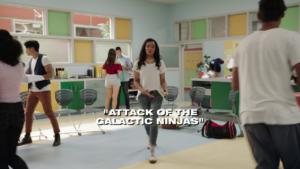 El ataque de los ninjas galácticos