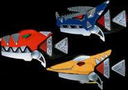 PRDT Dino morphers