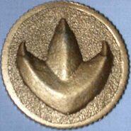 MMPR Moneda de poder (Green Ranger)