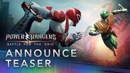 Power Rangers Battle for the Grid - Announcement Teaser