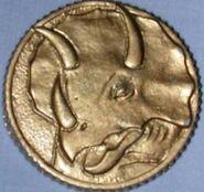 MMPR Moneda de poder (Blue Ranger)