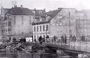 Chwaliszewo - powódz 1924