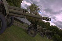 Muzeum Uzbrojenia haubice
