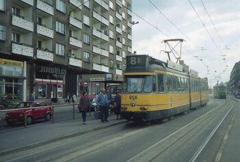Linia tramwajowa nr 8