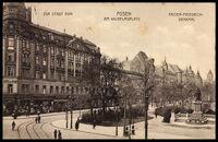 Wilhelmsplatz Kaiser-Friedrich-Denkmal 1916